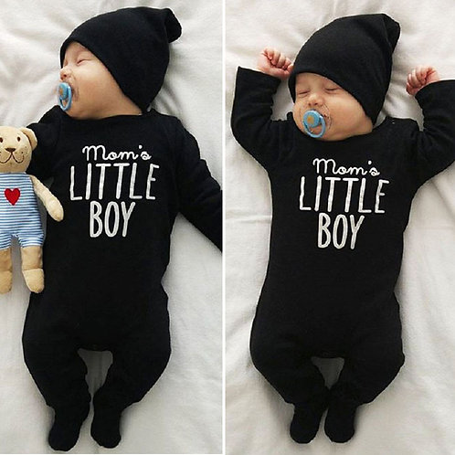 Newborn Infant Baby Boys Romper Jumpsuit Outfits Clothes