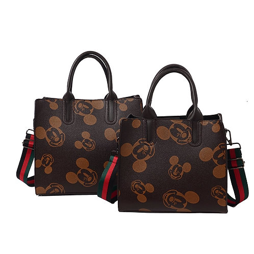 Disney Princess Lady Mickey Mouse Handbag Women