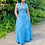 Thumbnail: Women Plus Size Sleeveless Buttoned Dress Casual Chic Slit Solid Maxi Dresses