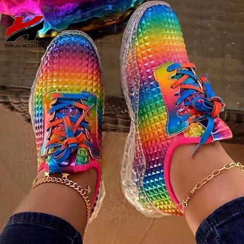 Woman's Summer Casual Shoes Multicolor  Single Shoes