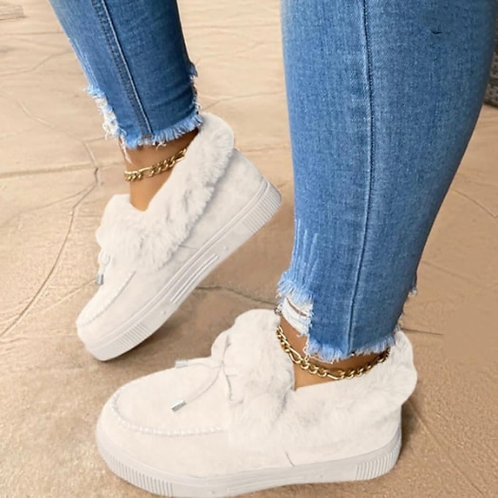 Casual Round Keep Warm Shoes