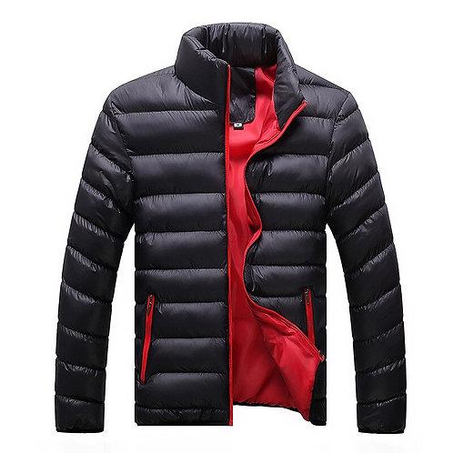 Autumn&Winter Men's Cotton Blend Bomber Jacket