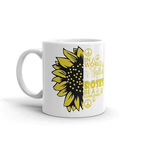 Custom Made Sunflower Mugs