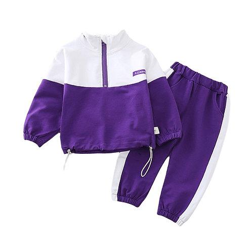 Children Boys Girls Clothes  Jacket Pants 2Pcs/Sets