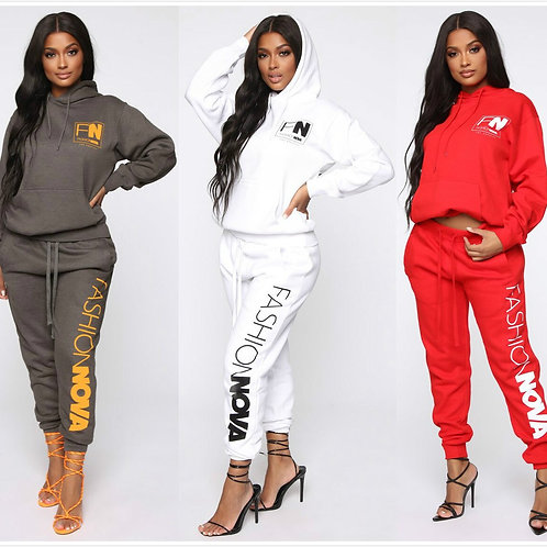 2 Piece Outfits for Women  Sweater Straight-Leg Pants