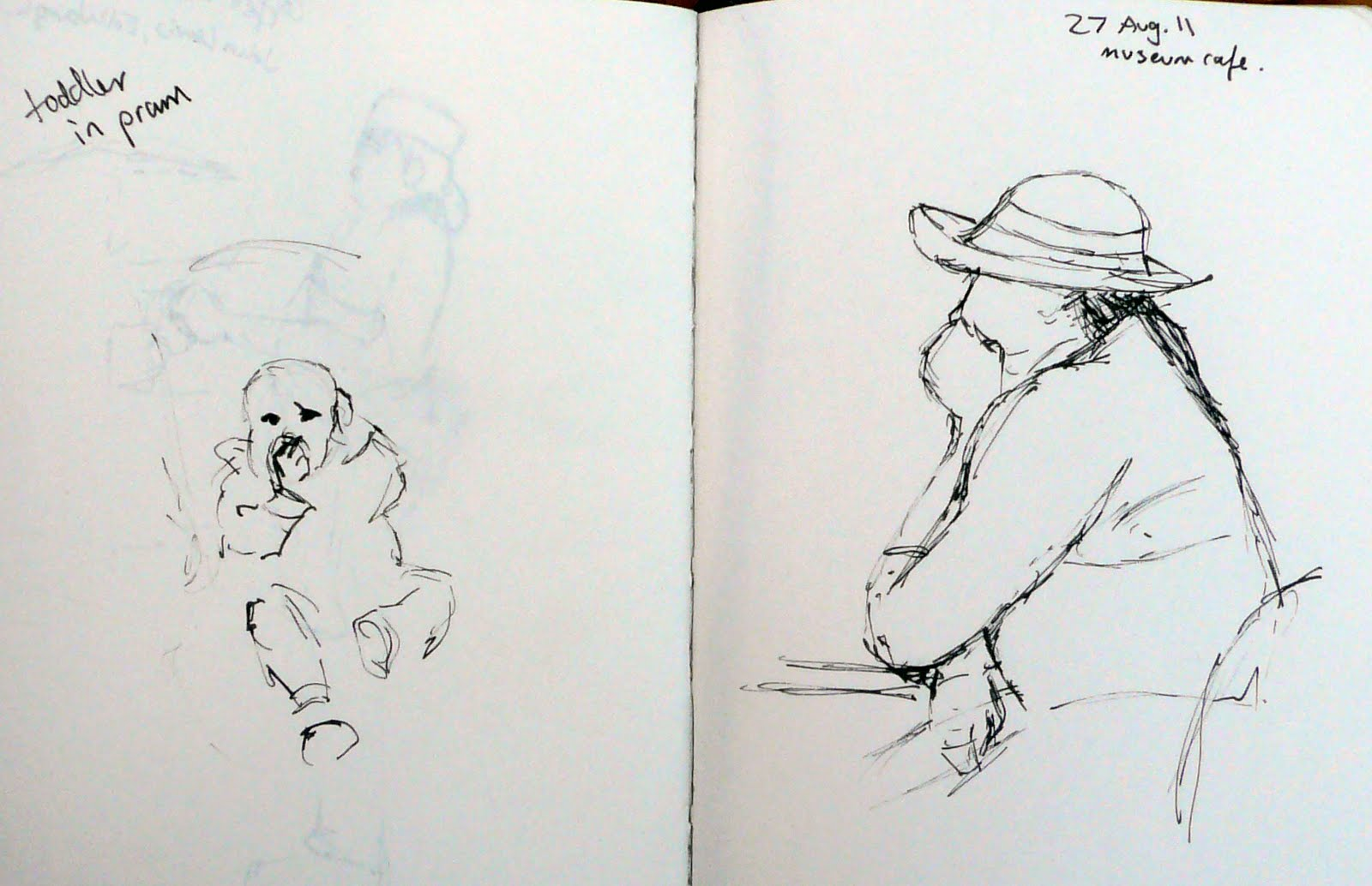 Museum Cafe Sketches