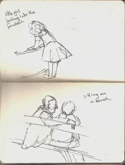 Sketches in Paris