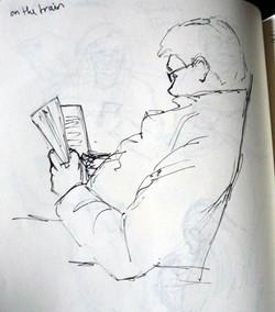 Train Journey Sketches