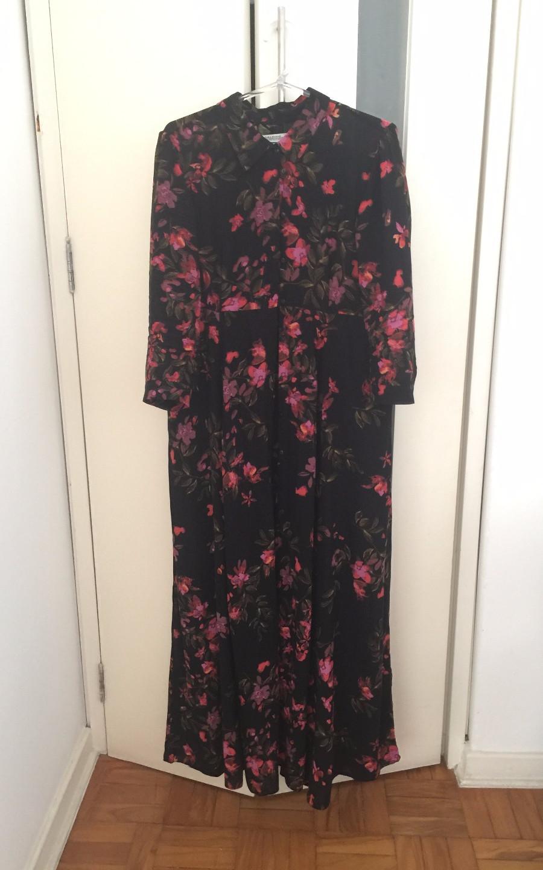 Vestido florido da Carlinha