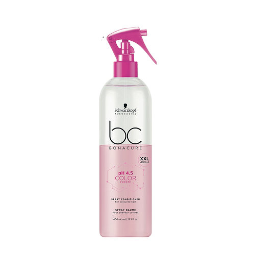 SPRAY ACONDICIONADOR COLOR FREEZE  4.5pH Sin aclarado - 400ml -BONACURE