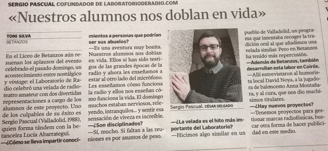 Radioteatro para mayores