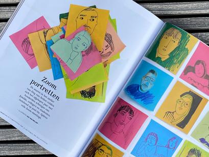 Zoom Portraits Now In Flow Magazine!
