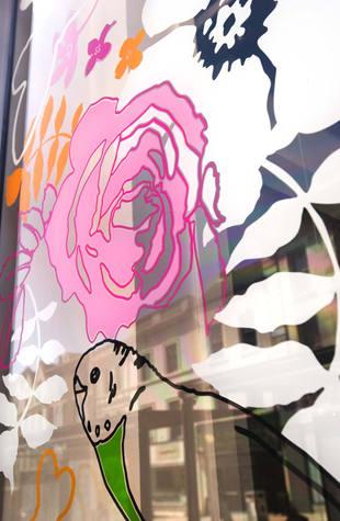Angel Row Gallery, Window Installation