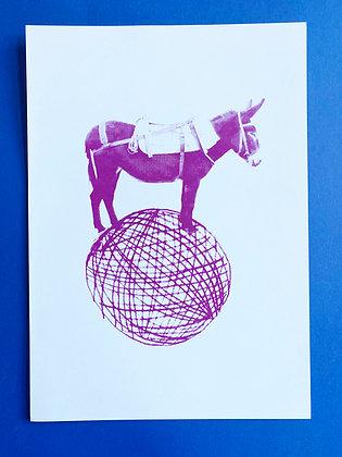 Balancing Donkey