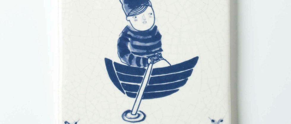 Johans Boat 10x 10cm