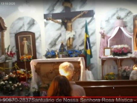 MESSAGE OF OUR LADY TO THE SEER BROTHER EDUARDO ON OCTOBER 13, 2020 IN SÃO JOSÉ DOS PINHAIS/PR