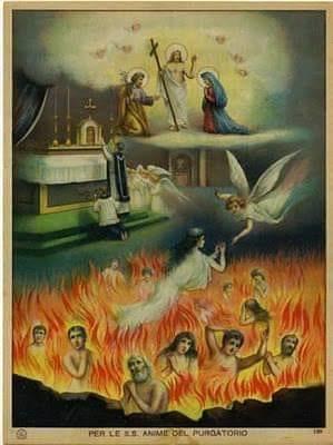 Filhinhos, o meio mais eficaz e rápido de tirar as almas do purgatório é a santa missa. Vocês devem mandar celebrar missas por elas.  No purgatório elas reconhecem o valor da santa missa.  Elas se alegram quando alguém manda celebrar missas por elas e também quando vocês participam das missas celebradas por elas.  Não esqueçam: Quando vocês forem mandar celebrar missas pelas almas, devem participar delas nesse dia.