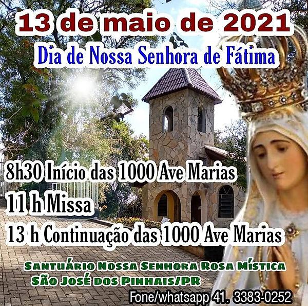2021Convite festa Nossa Senhora Fátima1.