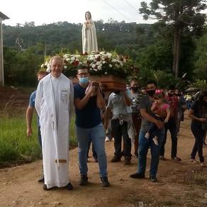 Mensagem de Nossa Senhora ao Irmão Eduardo Ferreira de 12/02/2021 em São José dos Pinhais, PR