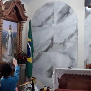 Mensagem de Nossa Senhora ao Irmão Eduardo Ferreira de 13/12/2020 em São José dos Pinhais, PR