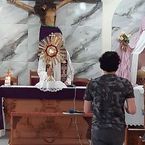 Mensagem de Nossa Senhora ao Irmão Eduardo Ferreira de 13/03/2021 em São José dos Pinhais, PR