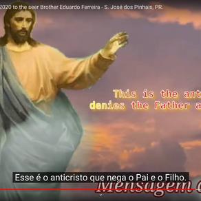 Jesus' message, on Dec, 13/2020 to the seer Brother Eduardo Ferreira - S. José dos Pinhais, PR
