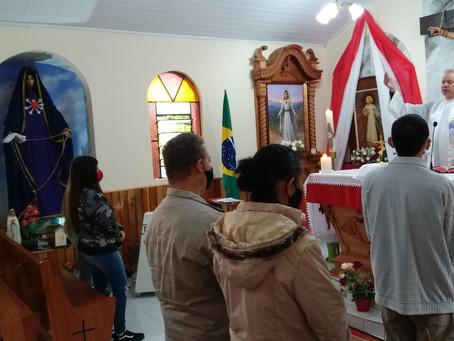 Mensagem de Nossa Senhora ao Irmão Eduardo Ferreira de 13/04/2021 em São José dos Pinhais,