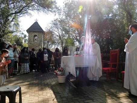 Mensagem de Nossa Senhora ao Irmão Eduardo Ferreira de 13/07/2021 em São José dos Pinhais, PR