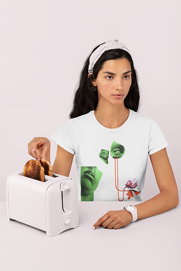 monochromatic-t-shirt-mockup-featuring-a-woman-with-some-toasts-32786.png