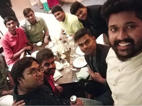 Felicitation Dinner at ITC