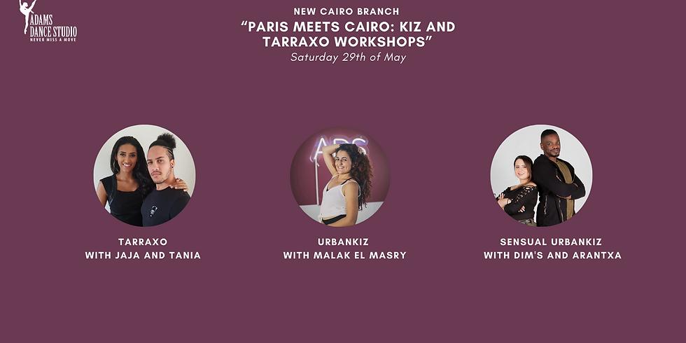 """Paris meets Cairo: Kiz and Tarraxo workshops"""
