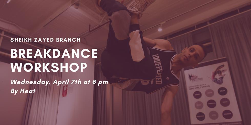 Breakdance Workshop@Sheikh zayed