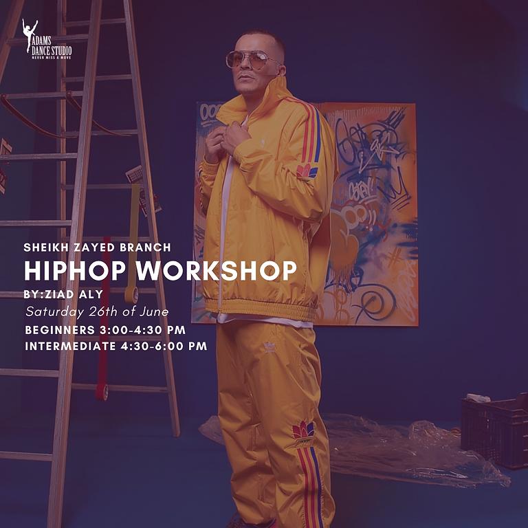 Hip Hop Workshop by Ziad Aly Mounib. Beginner. Sheikh Zayed Branch