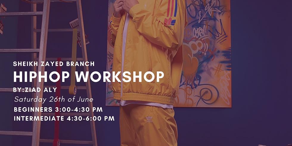 Hip Hop Workshop by Ziad Aly Mounib. Intermediate. Sheikh Zayed