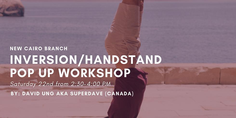 Inversion/Handstand Pop up Workshop