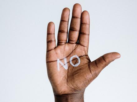 Saying 'No' to bullying