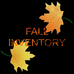 New Fall inventory
