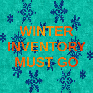 Winter Inventory Must Go.