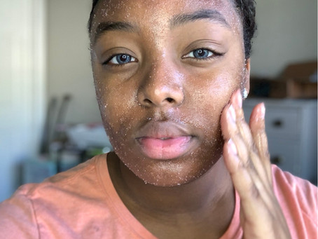 Copy of How to properly use a sugar scrub.