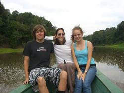 On Rio Negro with Phllip and Marina-Amazon