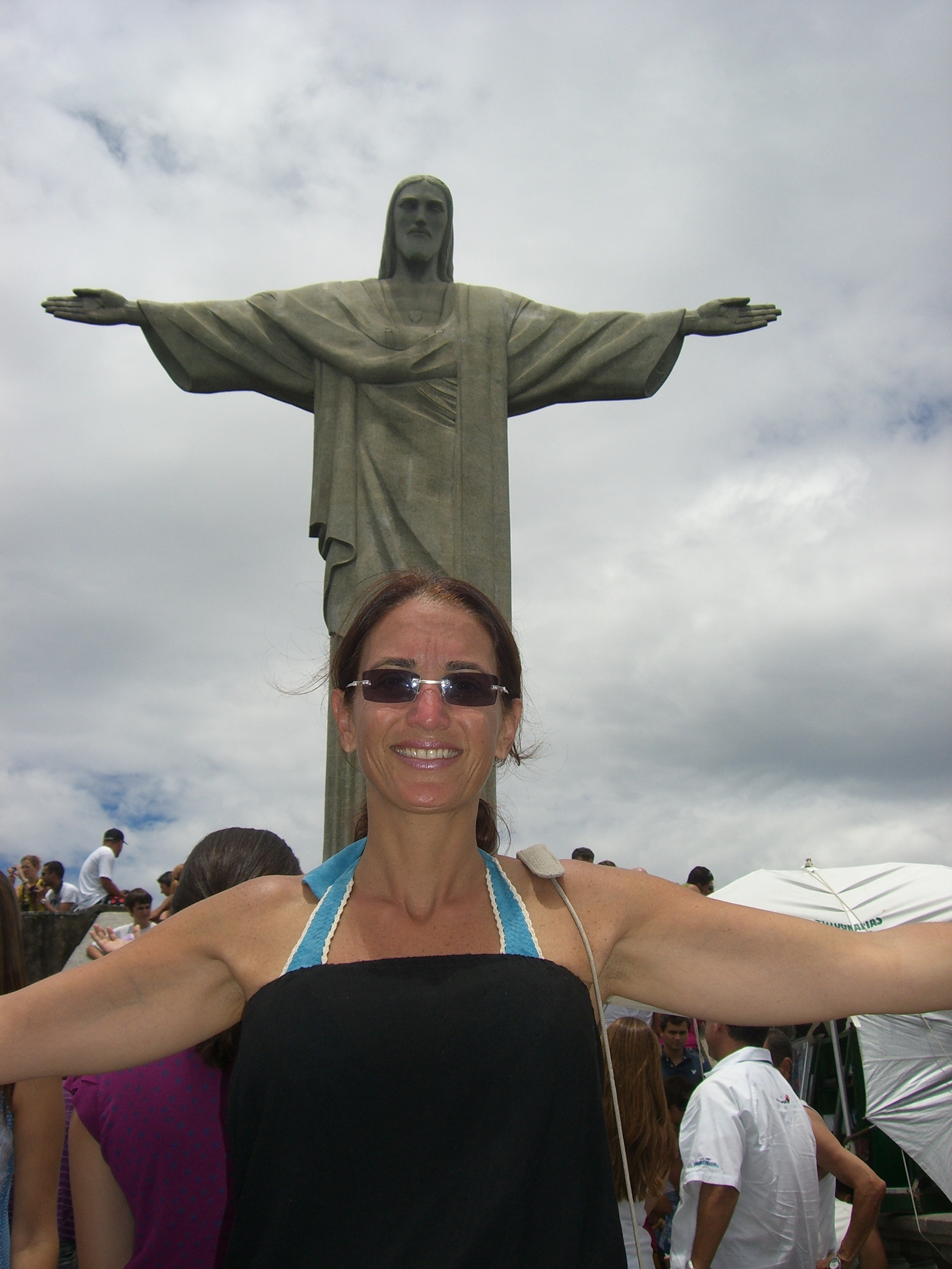 Sabrina and Christ the Redeemer