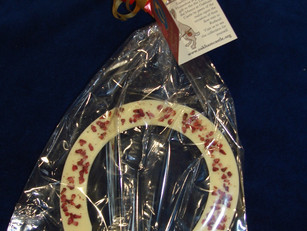 NEW! Valentine's Chocolate Horseshoes on sale now!