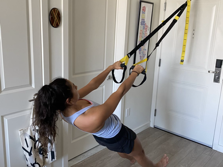 Strength Training For Squash With TRX