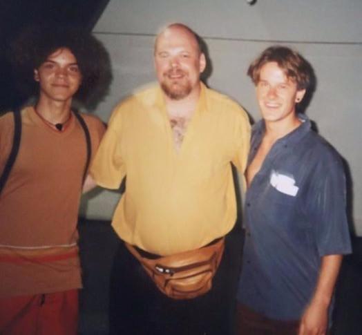 Com Vinicius Dorin e Eduardo Fontana