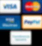 formas de pago, visa, visa electron, mastrcard, transferencia bancaria