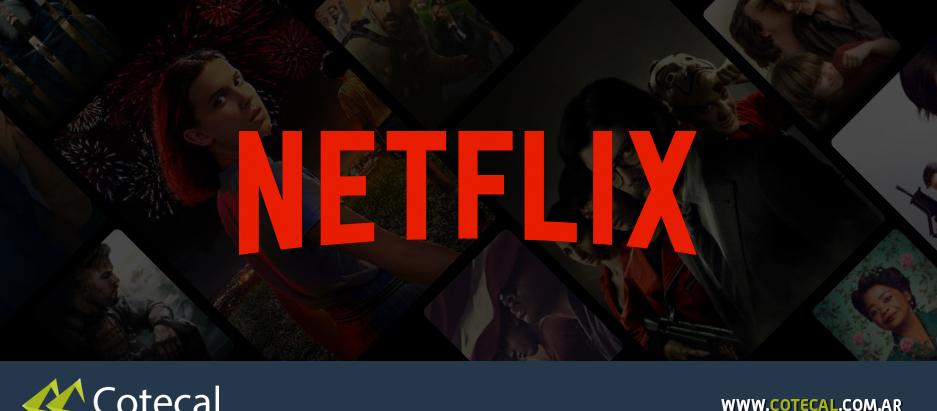 Llegó servidor de Netflix