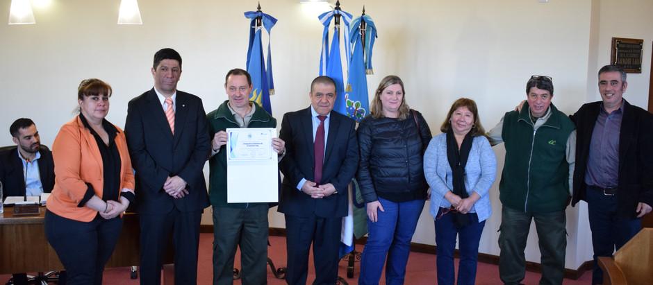 Concejo Deliberante entregó reconocimiento a COTECAL por su 50 aniversario