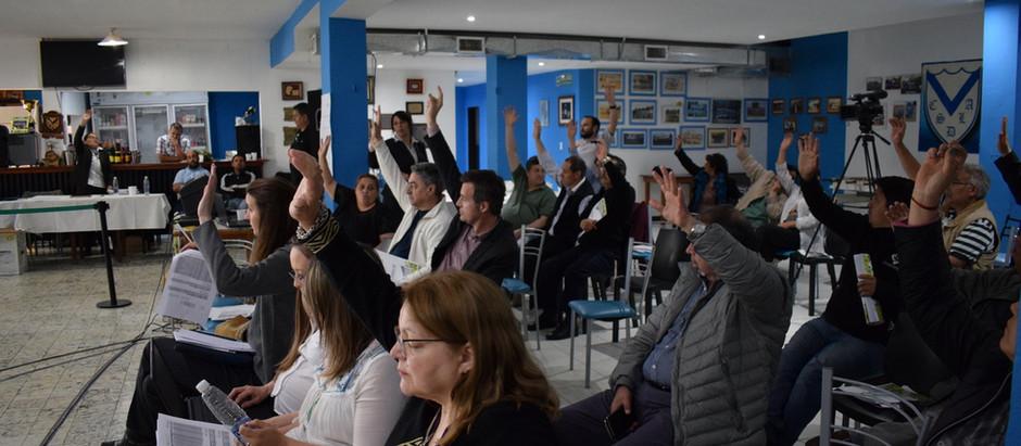 Asamblea General Ordinaria: Se aprobó construcción del Nodo 12