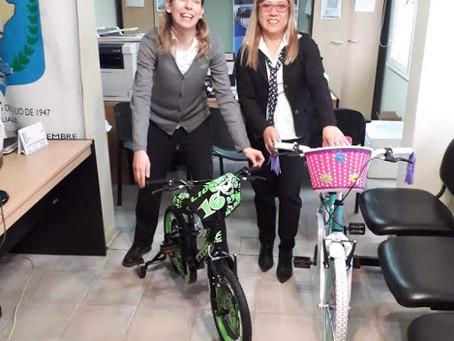 Entregamos bicicletas al Sindicato de Comercio para Festejos por Día del Niño