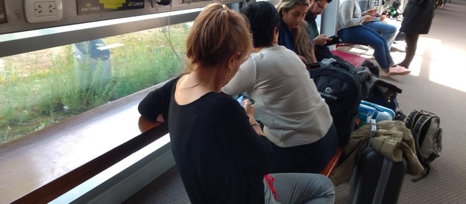 Ahora estamos más conectados en el aeropuerto